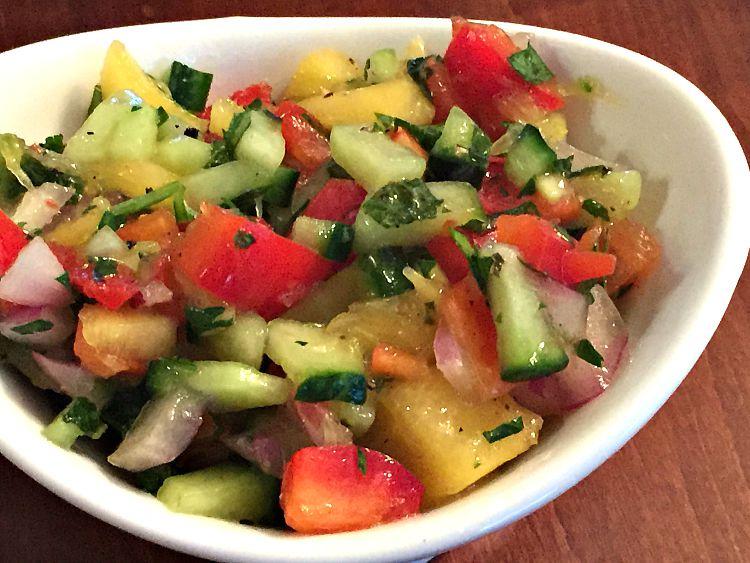 Israeli Salad GF