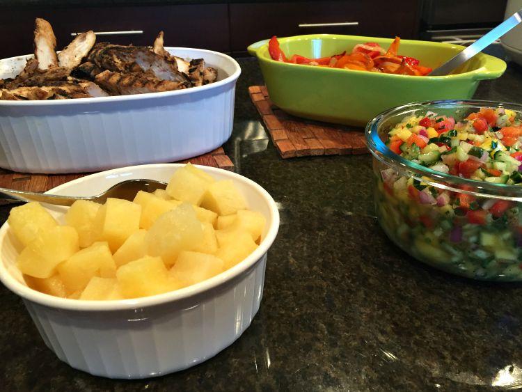 Rice Bowl Bar Toppings