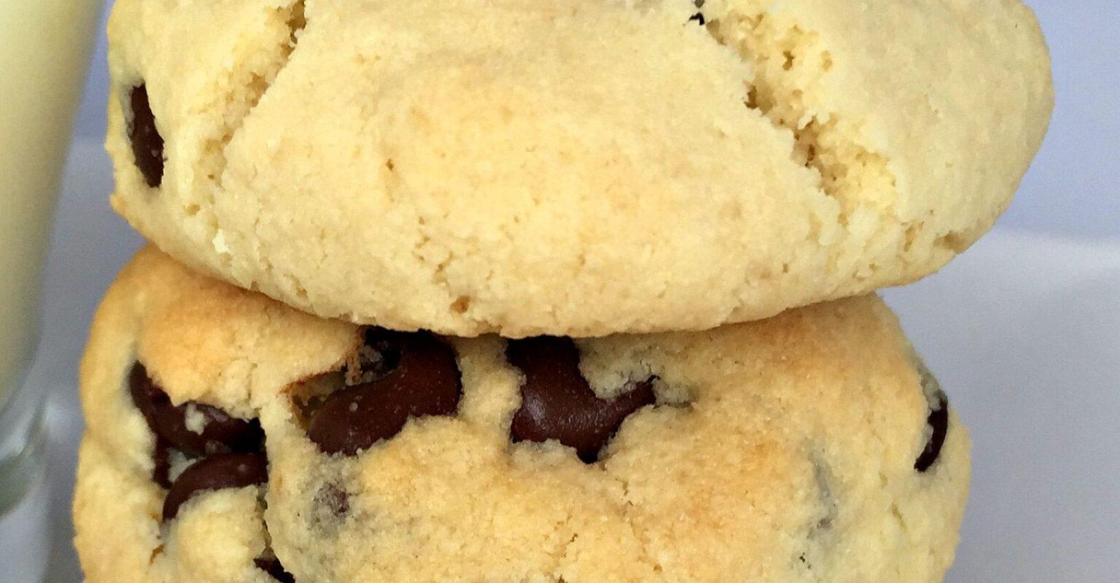 Gluten Free Almond Flour Chocolate Chip Cookies Recipe