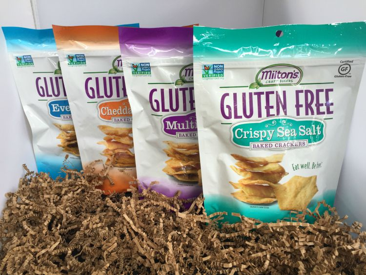 A Love Letter to Milton's Gluten-Free Crackers