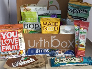 Urthbox subscription snacking
