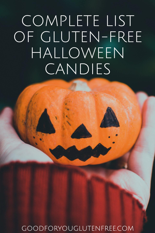 Complete List of Gluten-Free Halloween Candies