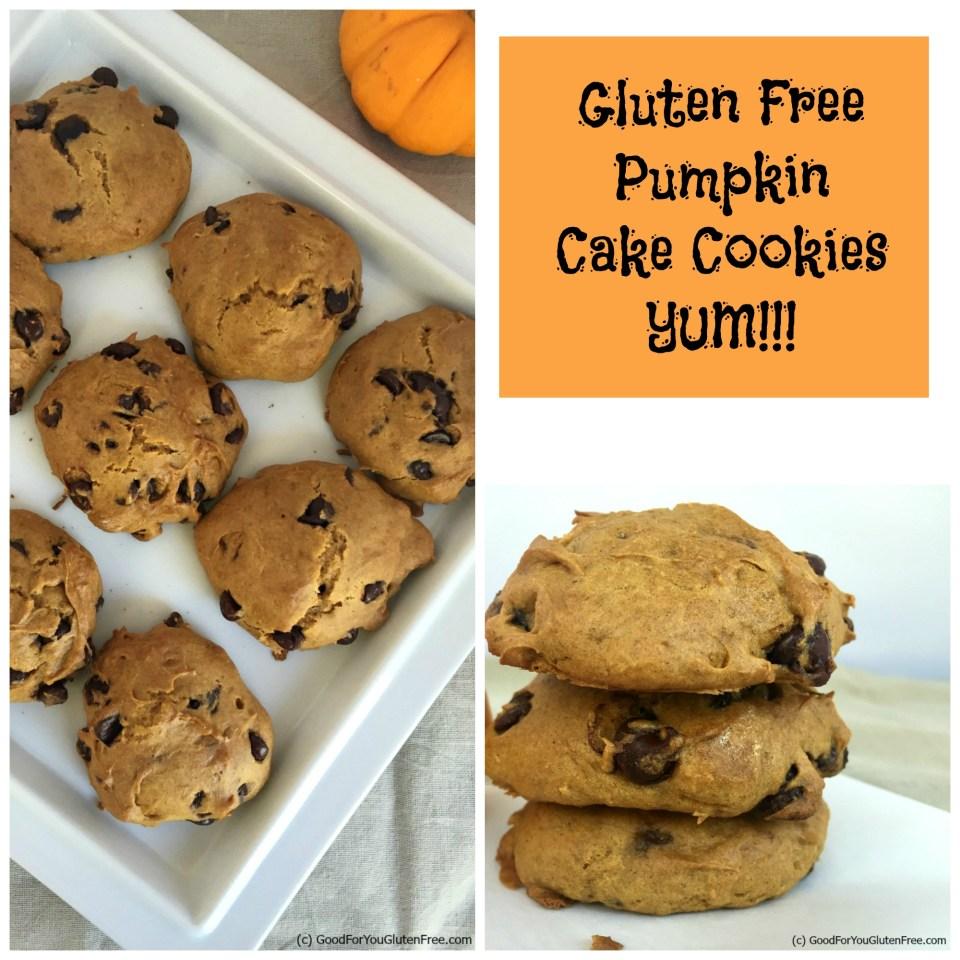 GF Pumpkin Cake Cookies 3