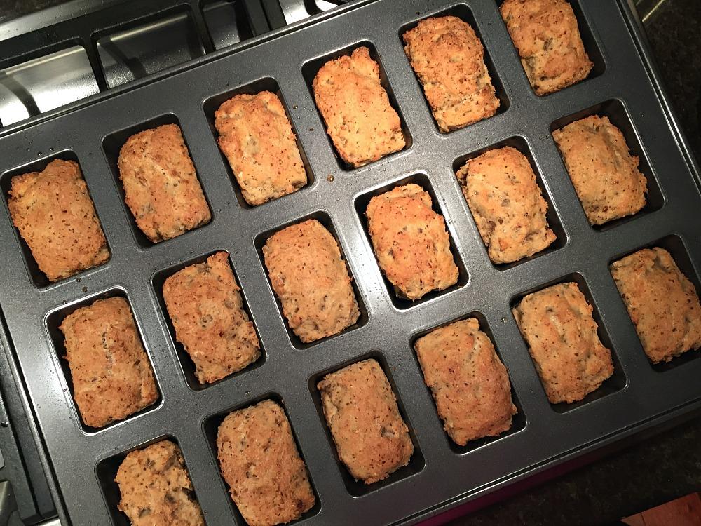 Gluten-Free Challah in Mini Loaf Pan