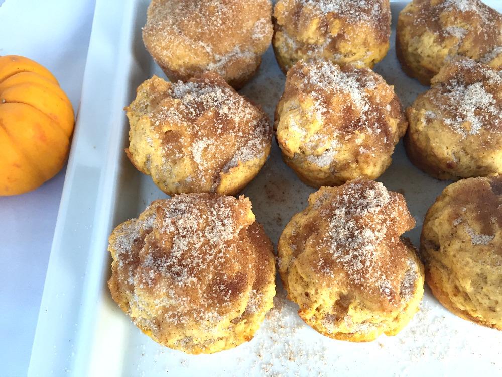 Pumpkin Spice Muffins GF 2