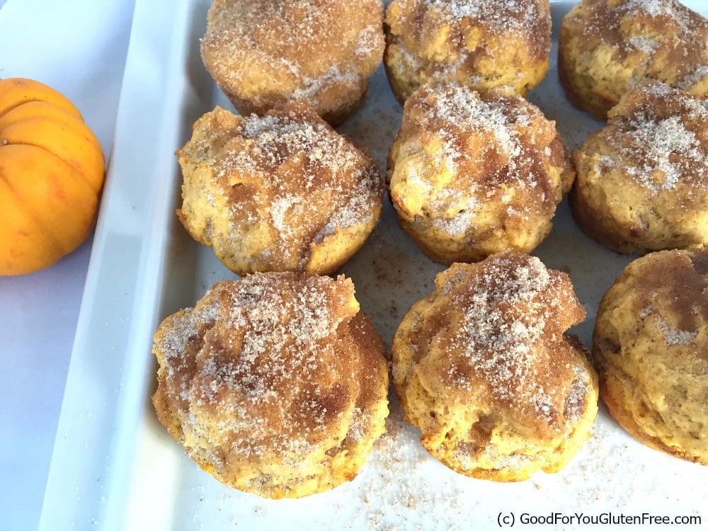 Gluten-Free Pumpkin Pie Spiced Muffins – Yum!