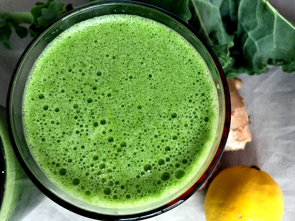 Jenny's Green Juice REcipe 1