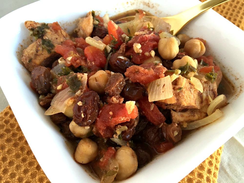 Slow Cooker Moroccan Chicken 3