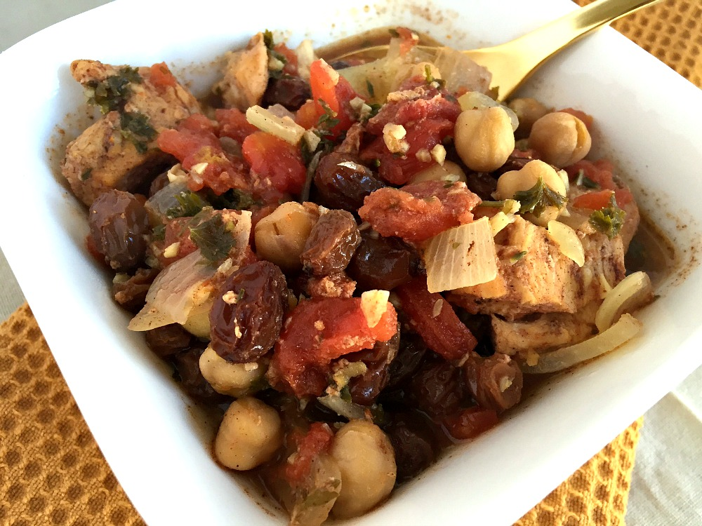 Slow Cooker Moroccan Chicken 3