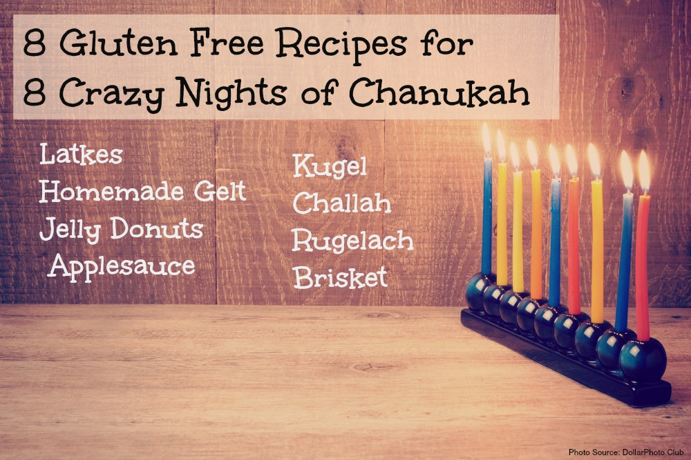 8 Gluten Free Hanukkah Recipes {Curated}