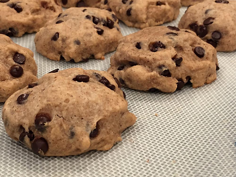 Gluten-Free Almond Butter Chocolate Chip Cookie