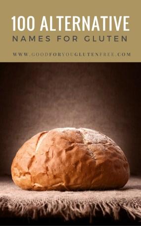 100 Alternative Names for Gluten