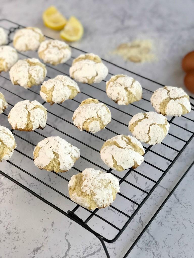 Gluten-Free Lemon Crinkle Cookies 1a