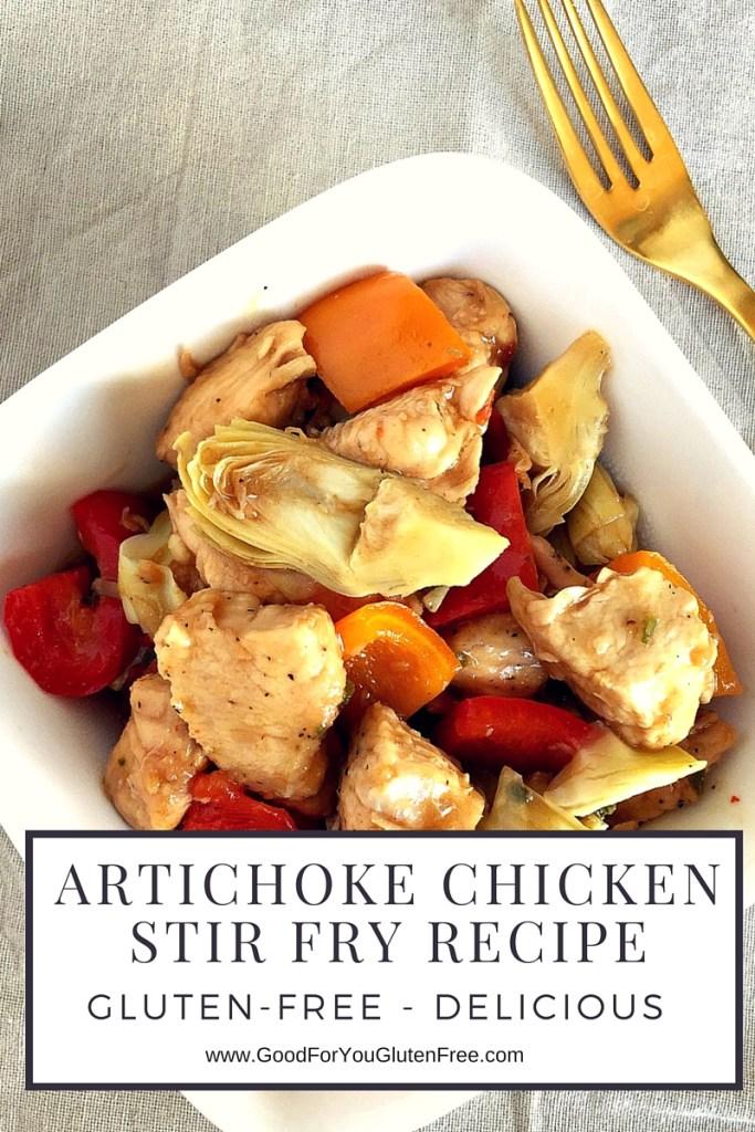Gluten-Free Artichoke Chicken Stir Fry Recipe