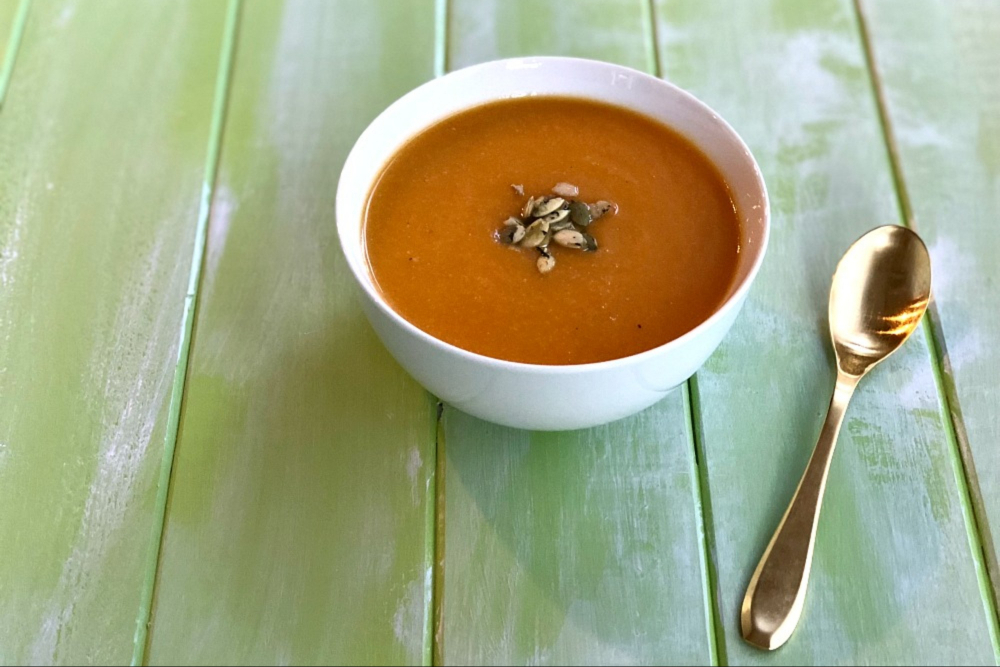 Carrot and Cauliflower Soup Recipe