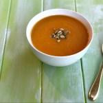 Carrot and Cauliflower Soup Recipe header