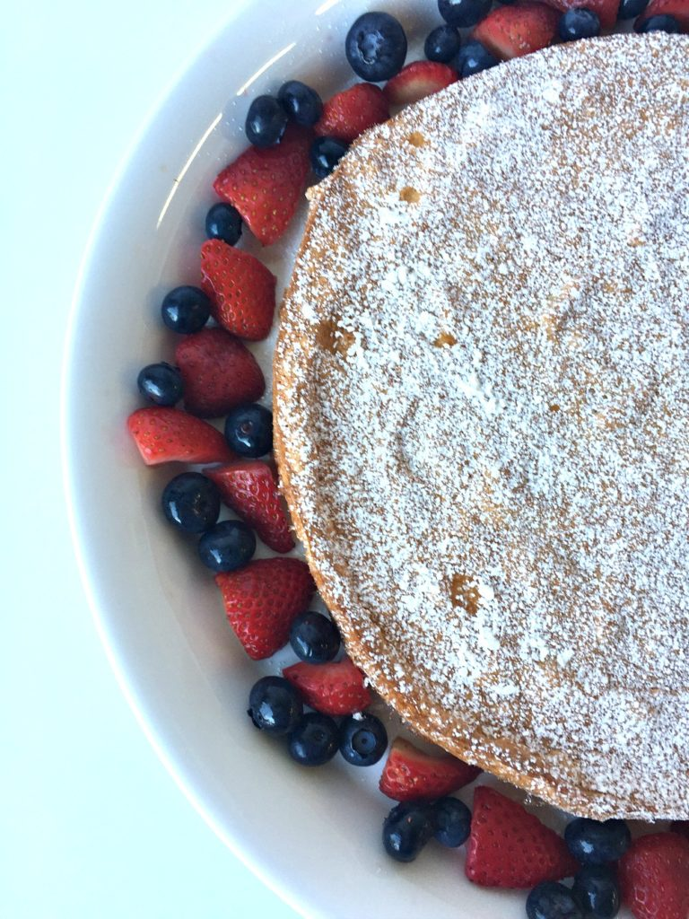 GF Lemon Almond Flour Cake 2