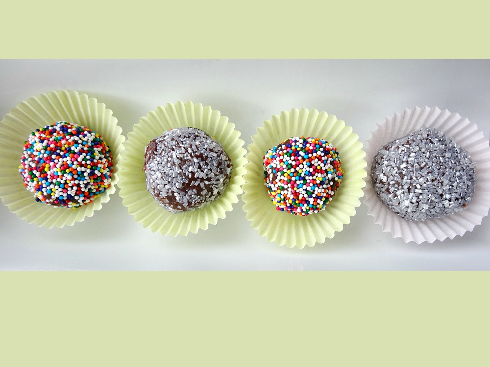 Gluten-Free Brazilian Chocolate Truffles (Brigadeiros) to Celebrate the Summer Olympics
