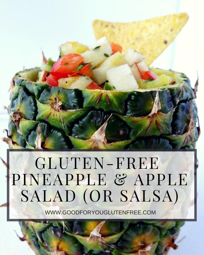 Gluten-Free Pineapple Apple Salad Recipe