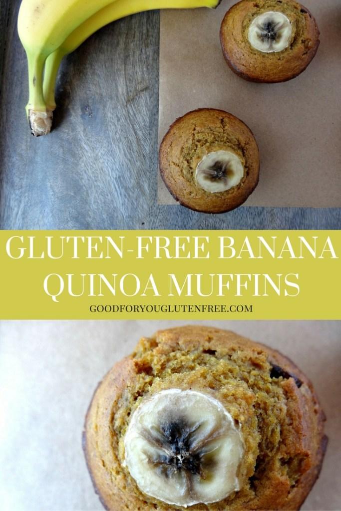 Gluten-Free Banana Quinoa Muffins Recipe