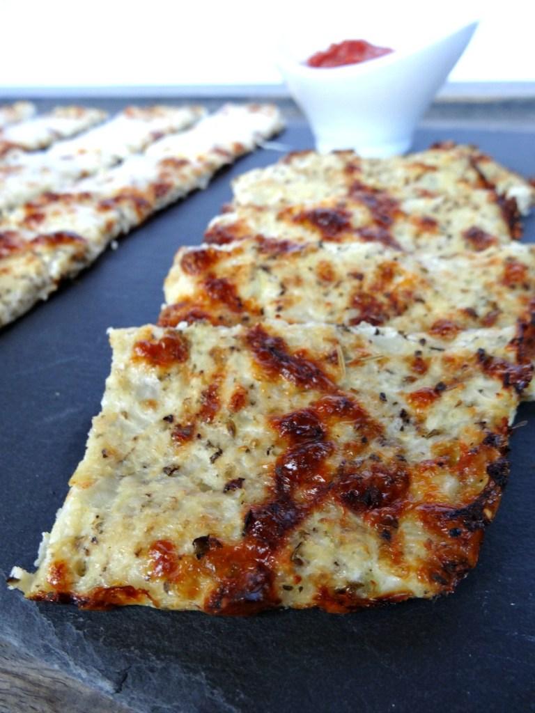 gluten-free cauliflower breadsticks 2