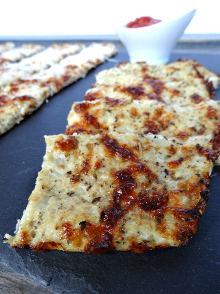 gluten-free cauliflower breadsticks 2