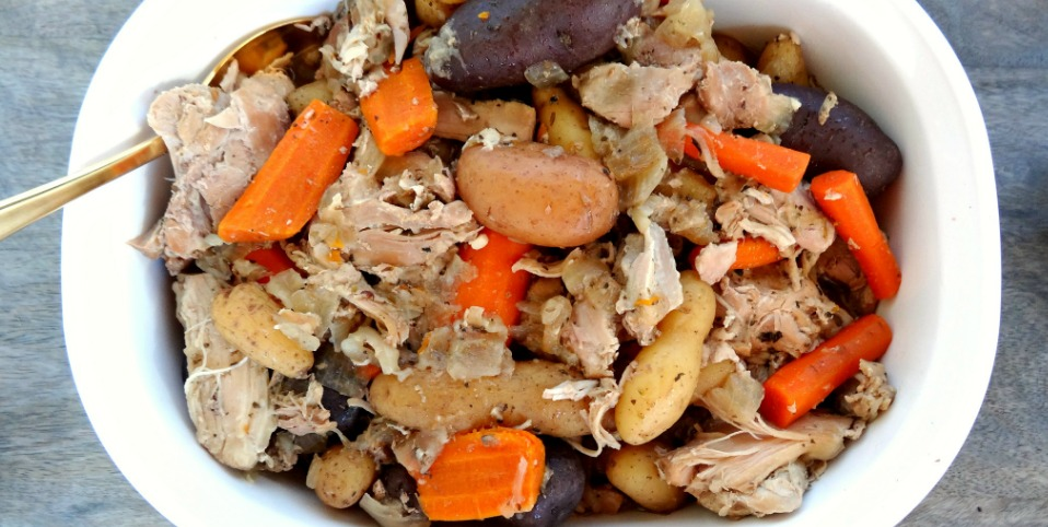 Slow Cooker Gluten-Free Chicken Thigh Stew