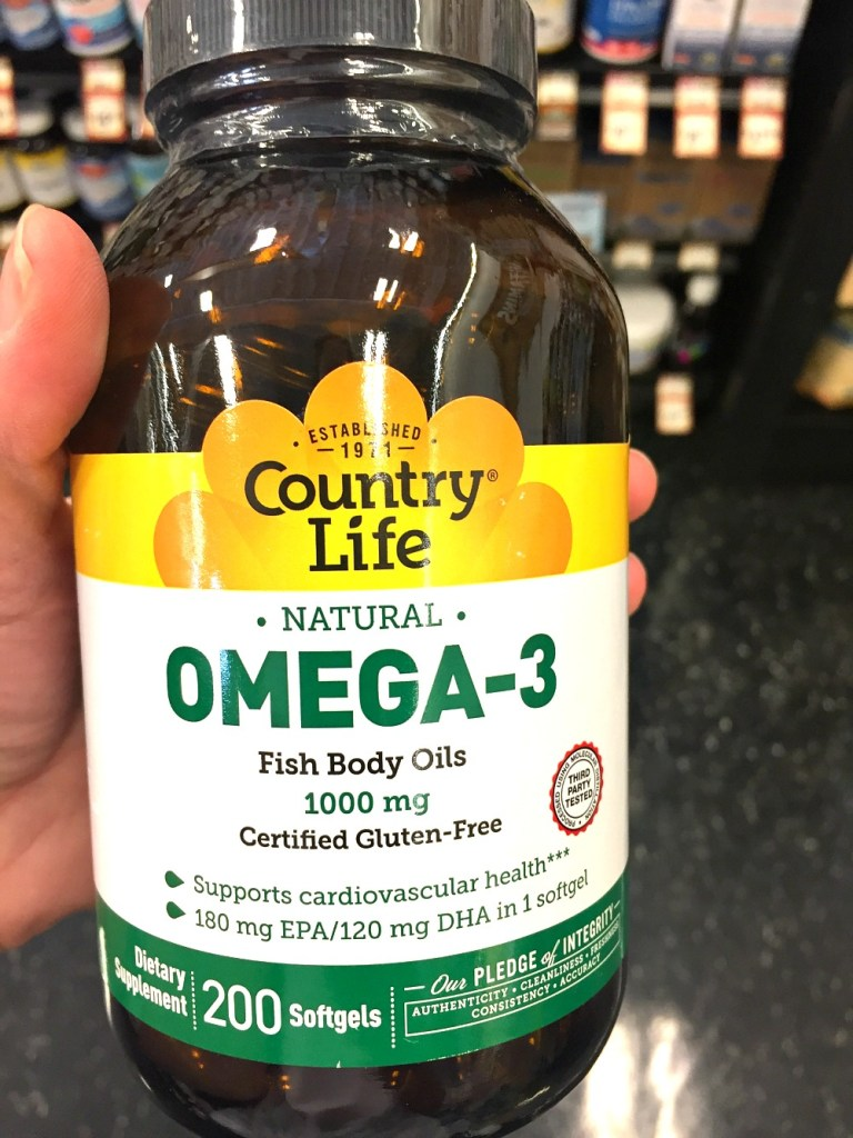 Sprouts Country Life Omega-3 Fish Oil