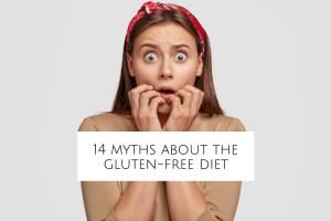 14 Myths About the Gluten-Free Diet header