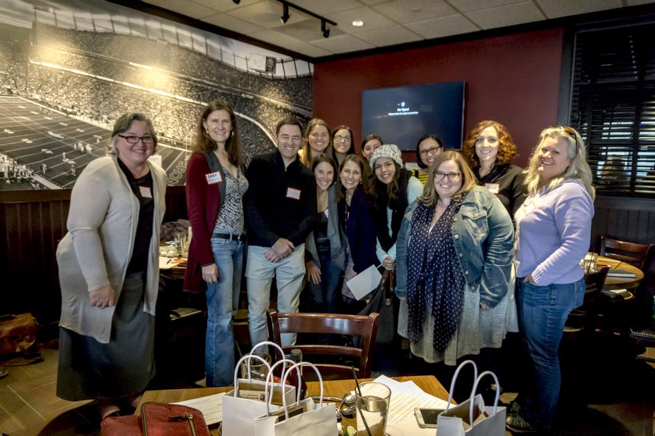 Denver Bloggers Club at Rusty Bucket