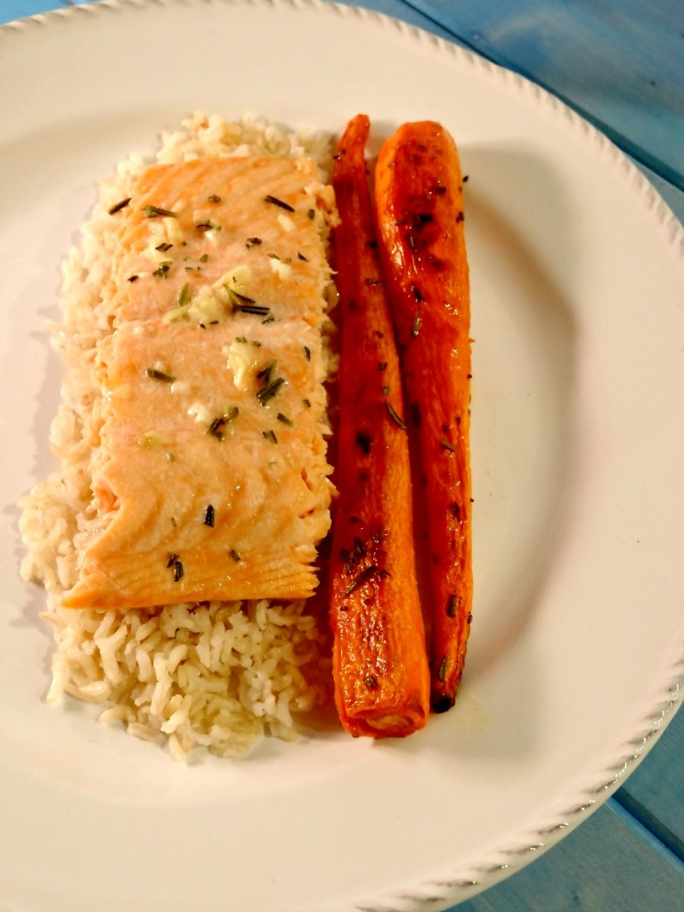Gluten-Free Garlic Butter Salmon 2