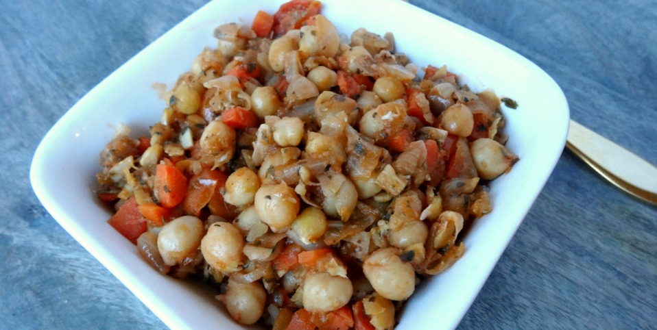 Easy and Inexpensive Gluten-Free and Vegan Dinner: Chickpea Stew