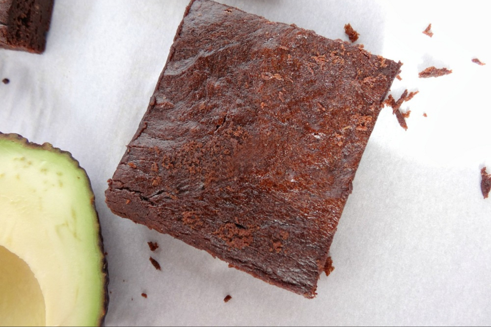 Gluten-Free Avocado Brownies header