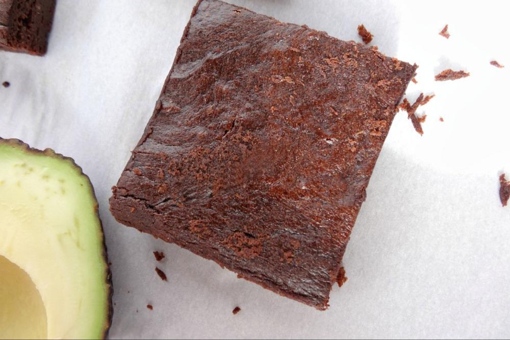 Gluten-Free Avocado Brownies header