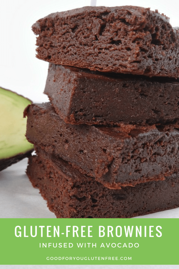 Gluten-Free Brownies infused with avocado
