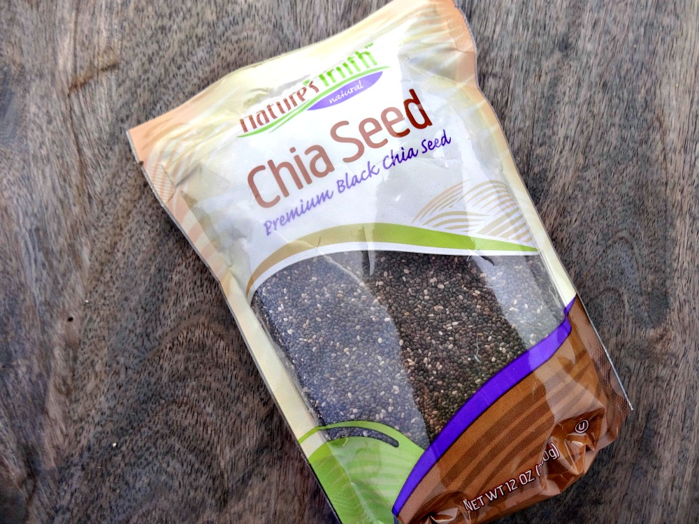 chia seeds - high fiber foods