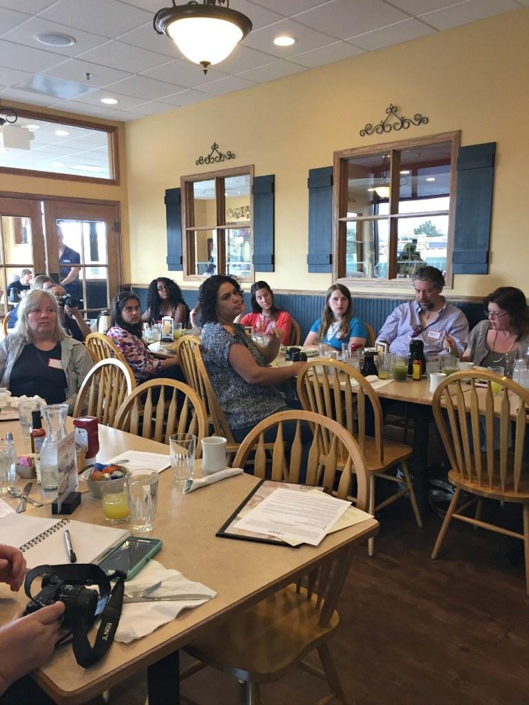 Denver Blogger Club at The Egg & I