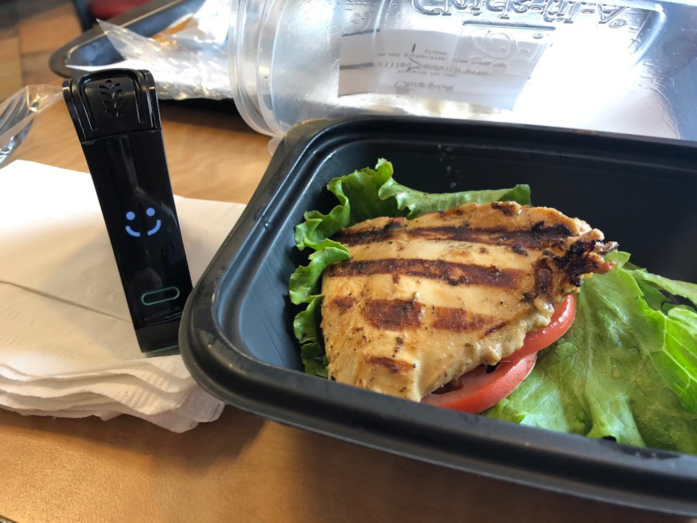 Chick-fil-a sandwich tested