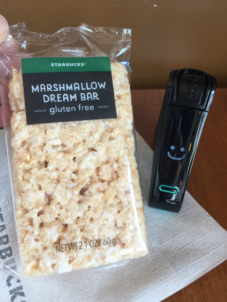 Starbucks Marshmallow Dream Bar - Gluten-free at Starbucks