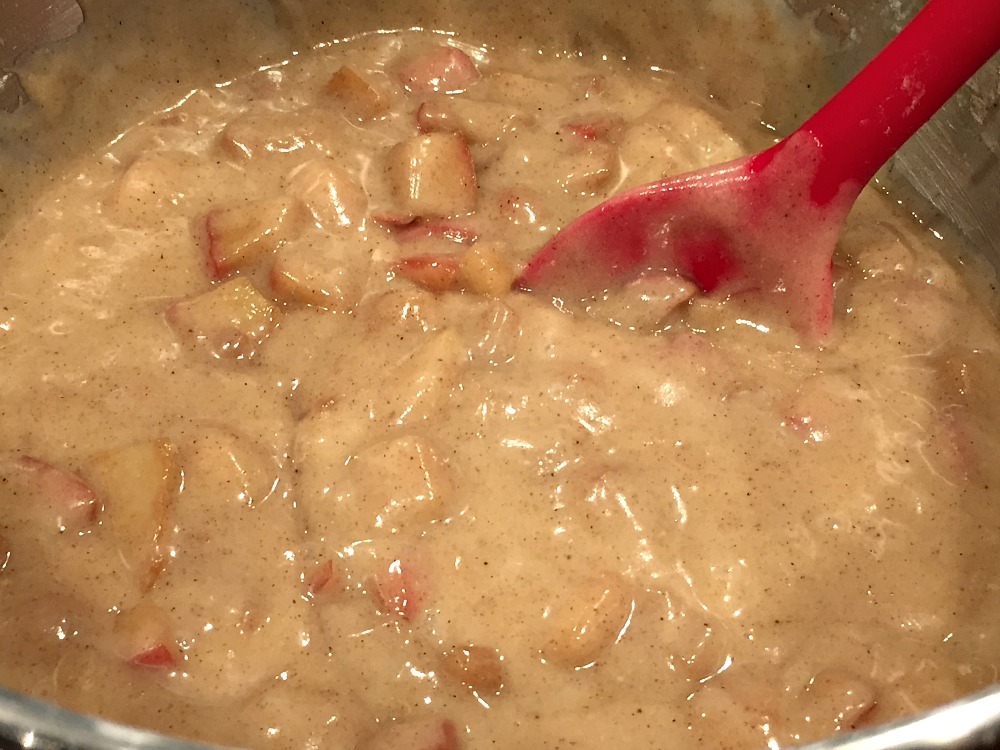 Gluten-Free Apple Cake Batter