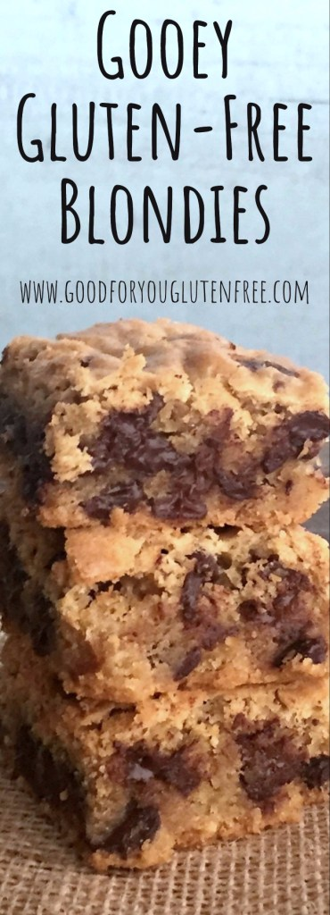 Gooey Gluten-Free Blondies Recipe - Good For You Gluten Free