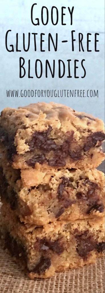 Gooey Gluten-Free Blondies Recipe - Good For You Gluten Free