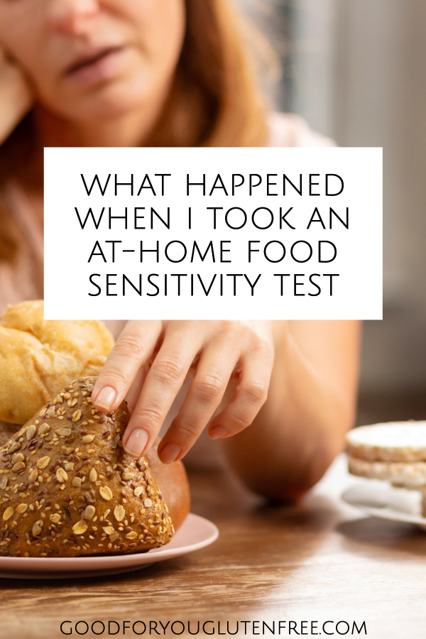 What happened when I took an at-home food sensitivity test
