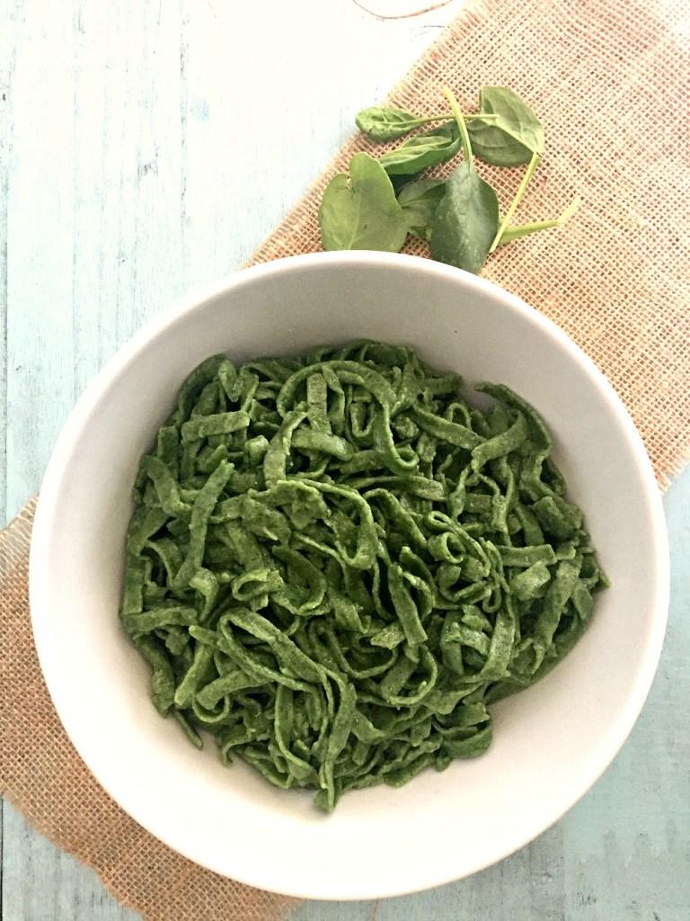 Gluten-Free Spinach Pasta 3