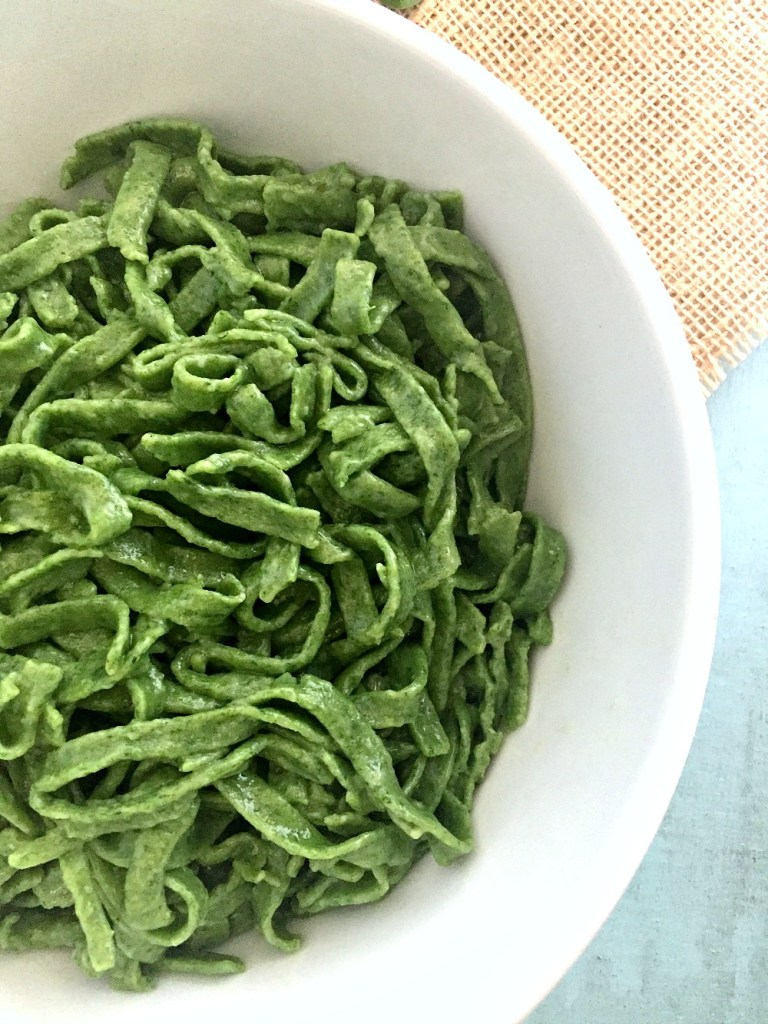 Gluten-Free Spinach Pasta 5