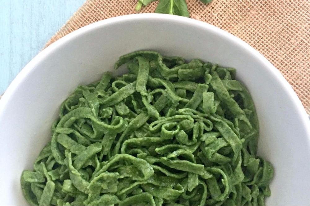 Gluten-Free Spinach Pasta (Pasta Verde)