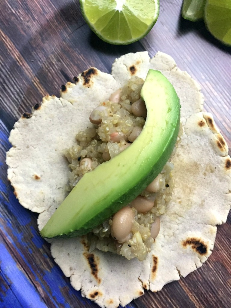 Quinoa Tacos with Beans and Lime 1