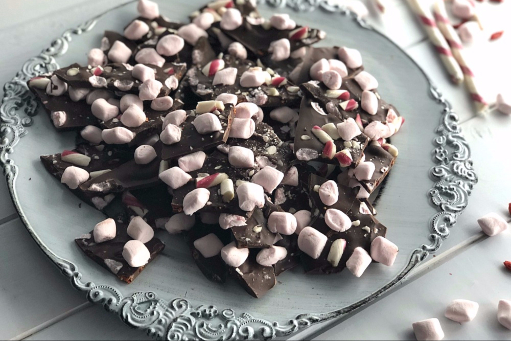Chocolate Bark Recipes Header