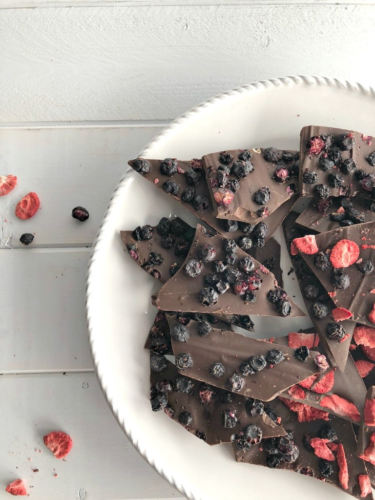 Freeze Dried Fruit Chocolate Bark 6