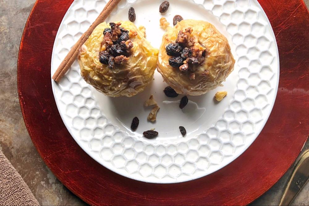 Baked Apple Recipe – Healthy Gluten-Free Dessert